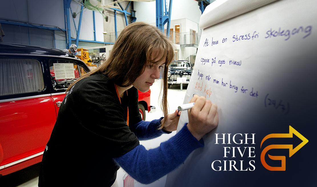 SoMe HACKATHON High 5 Girls 2